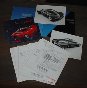 Peugeot Proxima Auto Show Car