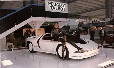 Peugeot Quasar Frankfurt Auto Show 1985