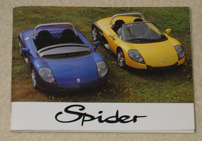Spider Owner's Manual in French