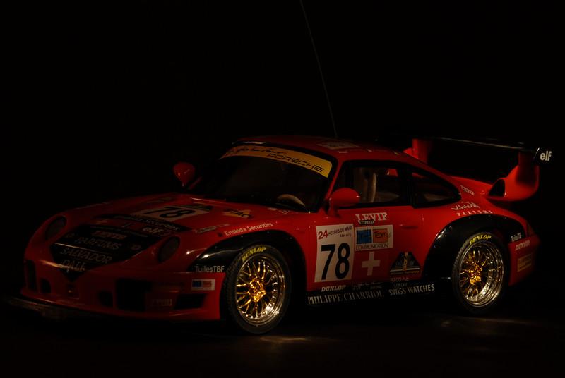 _D2C7491  Porsche 911 GT2 au 24 heures du Mans 2007<br /> Pilote: Guillaume Demers<br /> Light Painting avec Maglite  small (2 piles AA)