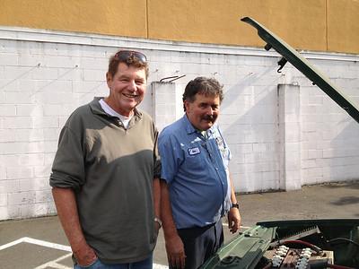 Don at the Model Garage - July 2013
