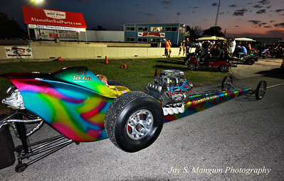 "Donnie Anderson's ""Summer of Love"" Top Fuel Dragster."