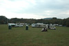 From the tent site, looking center, Saturday morning.
