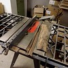 """Cut it into a 18"""" X 1-1/4"""" X 7"""" slab on the table saw."""