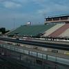 Sportsman side grandstand.