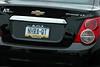 Crewguy Jonathan Pickett's girlfriend's car... it was true ;>)