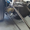 Puke tank, undertray & mounted wheelie bar.