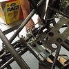 Installed seat bracket & plumbed master cylinders.