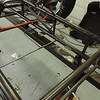 Tabs & support rails for the oil & fuel tanks.