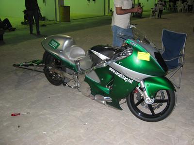 Drag bike from Saudi