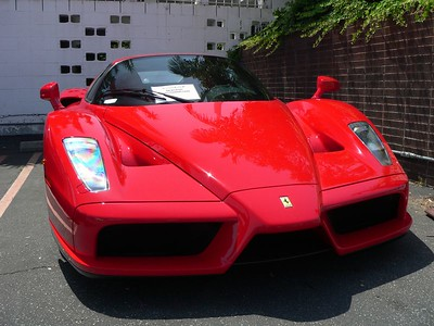 2003 Enzo Ferrari (Supposedly worth $1,000,000.)