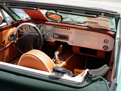 2005 Morgan Aero 8 Interior