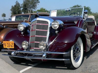 '34 Cadillac 355 D V8 (?)