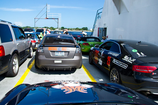 Parked on St. Johns River Ferry