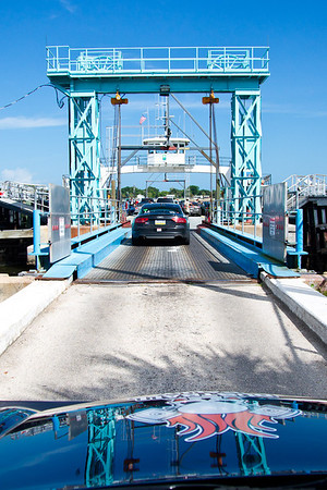 Boarding St. Johns River Ferry