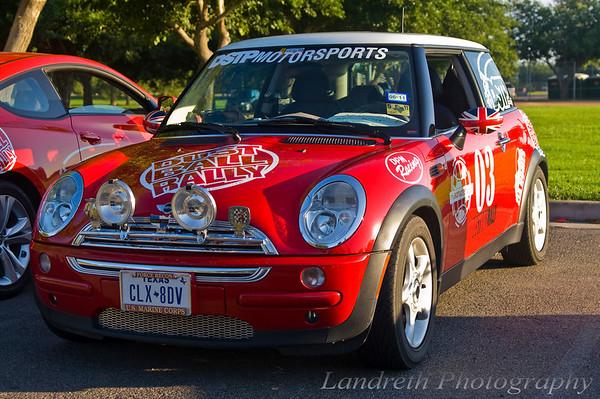 Team Prostin - 1972 Porsche 911E Rally Car / last minute Mini replacement