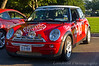 Team Prostin - 1972 Porsche 911E Rally Car / last minute Mini replacement