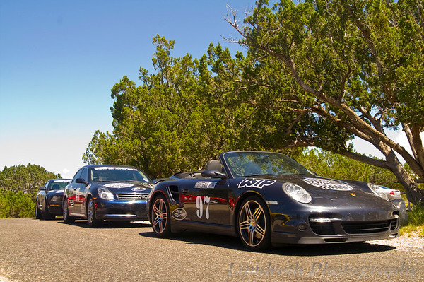 I must say it I was more than happy I actually kept up with this 997 Turbo and the Team Hall & Nass Vette in the twisties.  Wow that was a fun road getting to this spot, even with leaving a bit of chassis brace paint on a certain dip in the road!