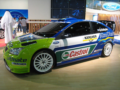 Marcus Gronholm's Ford Focus.