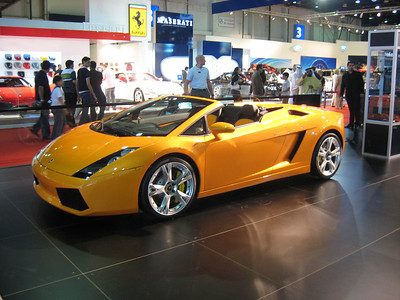If I was ever going to have a Lambo, it would have to be an orange one.
