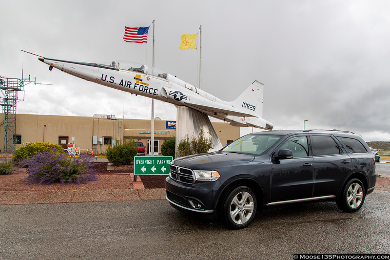 New Mexico - With my old ride at Gallup Municipal Airport