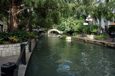 Sunday (8/25) at the River Walk in downtown San Antonio, TX, several blocks from the Alamo.