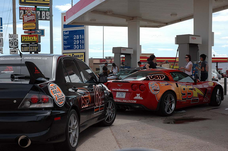 For most, a logical place to stop for fuel is Van Horn, east of El Paso on I-10.