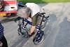 Folding the bike step 1