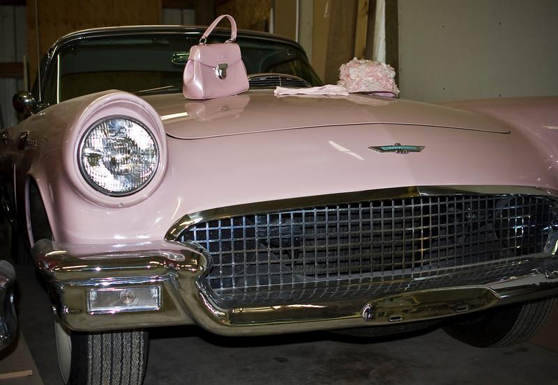 Pink T-Bird. 'Nuff said!