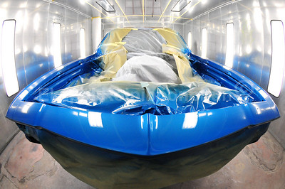 Chevy El Camino Restoration. Another masterpiece from Edward and team. -- AUTOBAHN Autobody & paint.   33 Linden Avenue, South San Francisco, CA 94080 650-273-8800