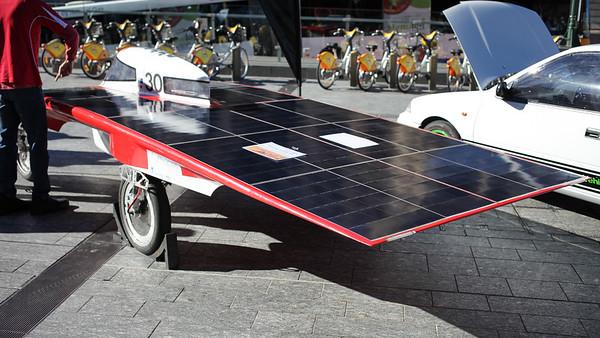 Team Arrow - Engineers Australia Electric Vehicle Exhibition, Reddacliff Place, Brisbane, Qld, AUS - Photos by Des Thureson - http://disci.smugmug.com. (Thursday 6 August 2015)