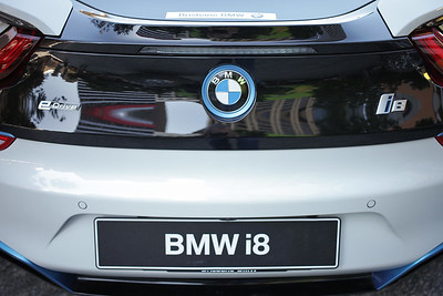 BMW i8 Plug In Hybrid Electric Vehicle - Engineers Australia Electric Vehicle Exhibition, Reddacliff Place, Brisbane, Qld, AUS - Photos by Des Thureson - http://disci.smugmug.com. (Thursday 6 August 2015)