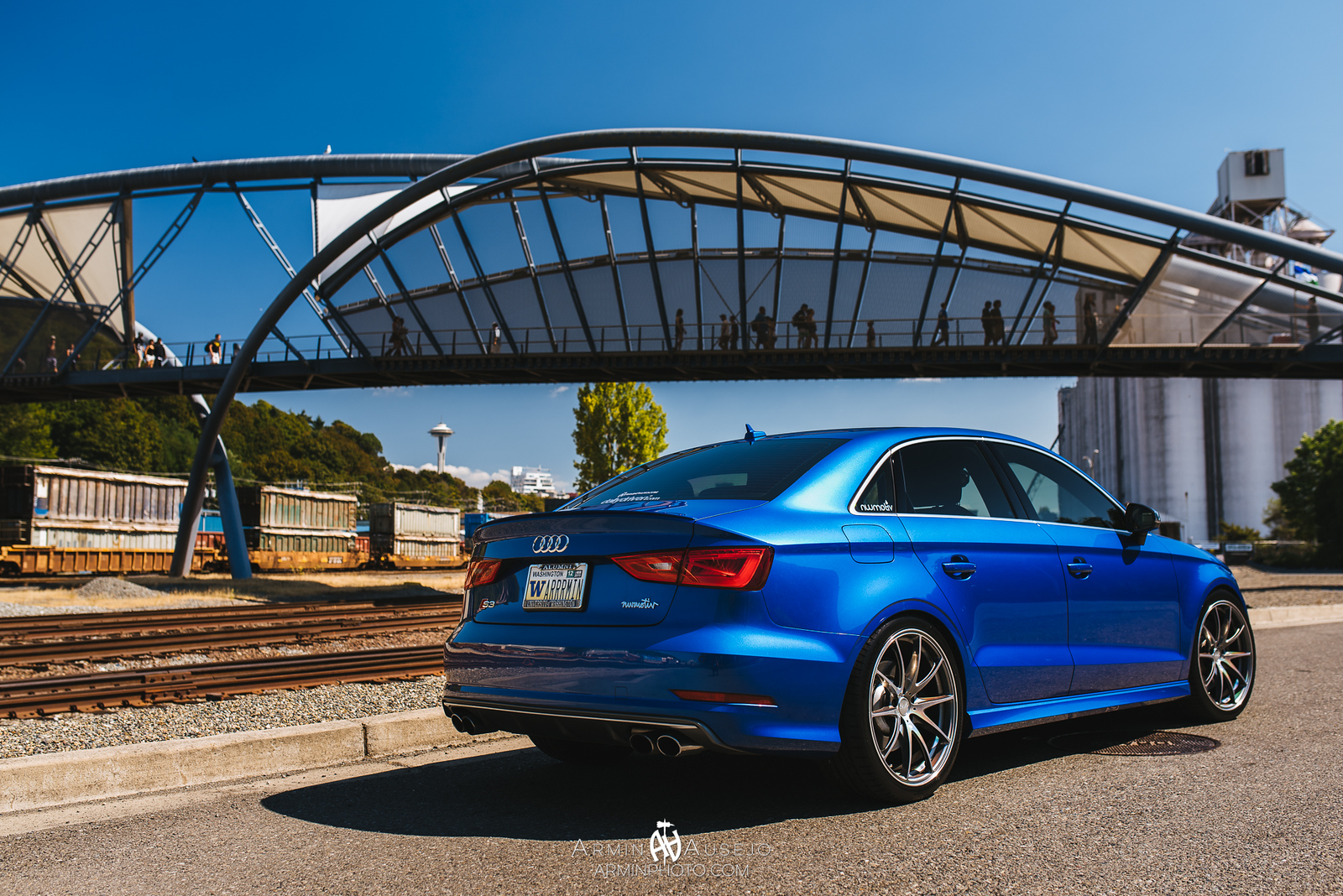 Audi S3 on Volk Racing G25