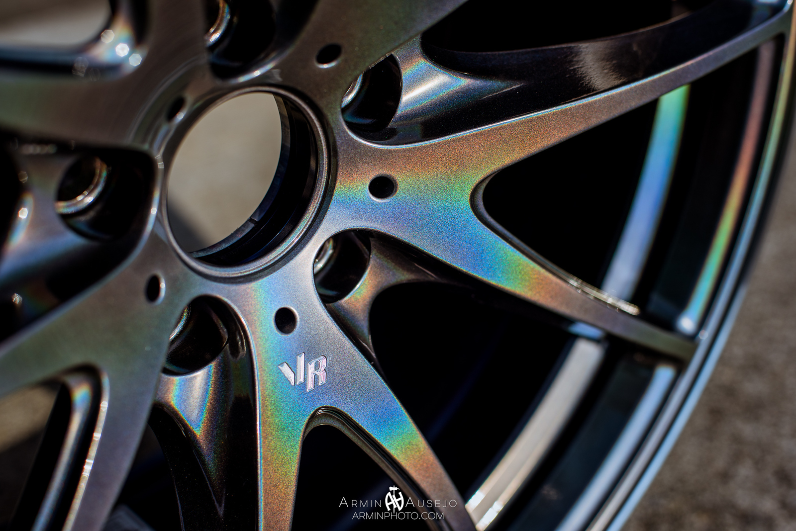 Volk Racing G25 in Dark Prism Close-Up