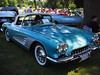 1959 Chevrolet Corvette at the Elm Estate Auto Show in Wellesley, MA on June 24, 2012