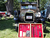 1929 Ford Model A with original toolkit at the Elm Estate Auto Show in Wellesley, MA on June 24, 2012