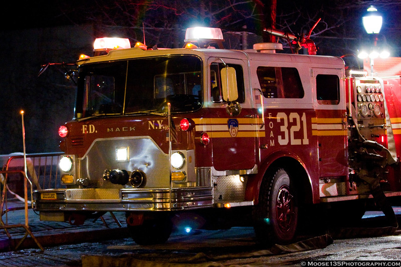 FDNY Foam Truck during the Miracle on the Hudson plane crash.