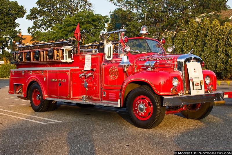 Restored 1962 Mack from the Hicksville Fire Department.