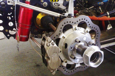 "* Willwood 4 piston callipers<br /> * Revolution 12"" lightweight ventilated rotors<br /> * Brakeman Carbon Pads<br /> * Optional: Brakeman 4 Piston Caliper"