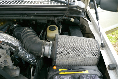 Equally huge stupid air filter that I plan to replace soon.