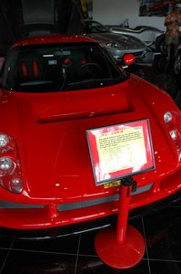 This is a Noble M12 GTO-3R, number 6 supercar of the world (www.supercars.net).