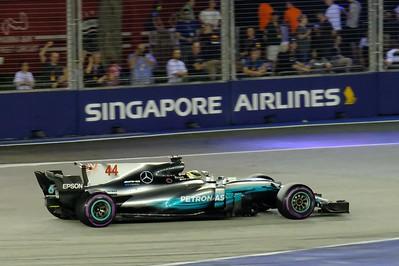 F1 Singapore 2017