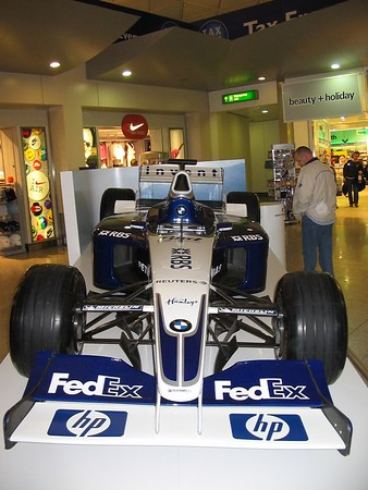 F1 race car @ Stansted Airport 11/03/05