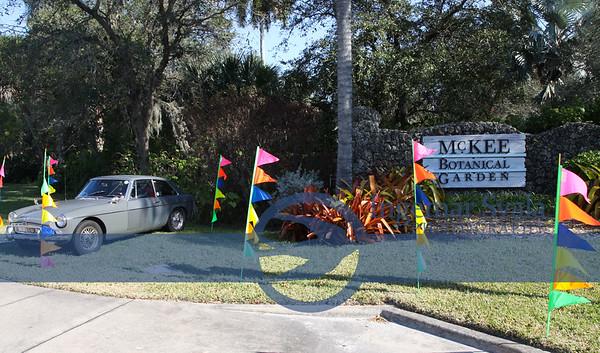 February 13, 2016, Vero Beach's McKee Gardens 7th Annual Motorcar Show.