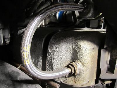 Replaced fuel hose.