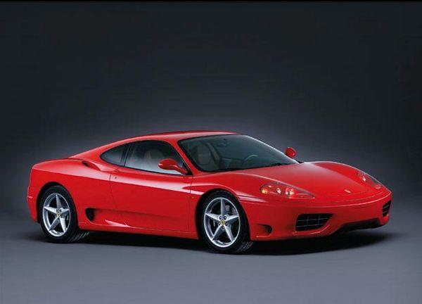 Ferrari 360 Modena 3 Quarter Front View