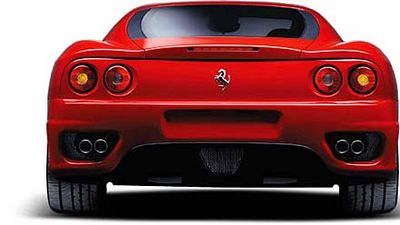 Ferrari 360 Modena Rear View