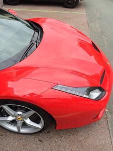 Ferrari 488GTB, James Street Markets, Brisbane, Queensland, Australia; Australia Day, 26 January 2016.