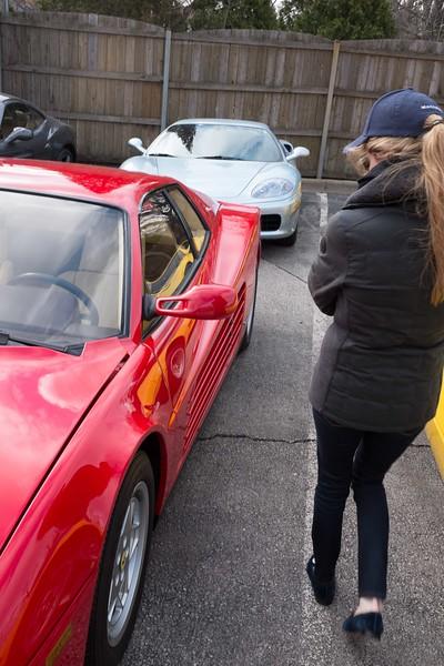 JJ Ferrari shopping!