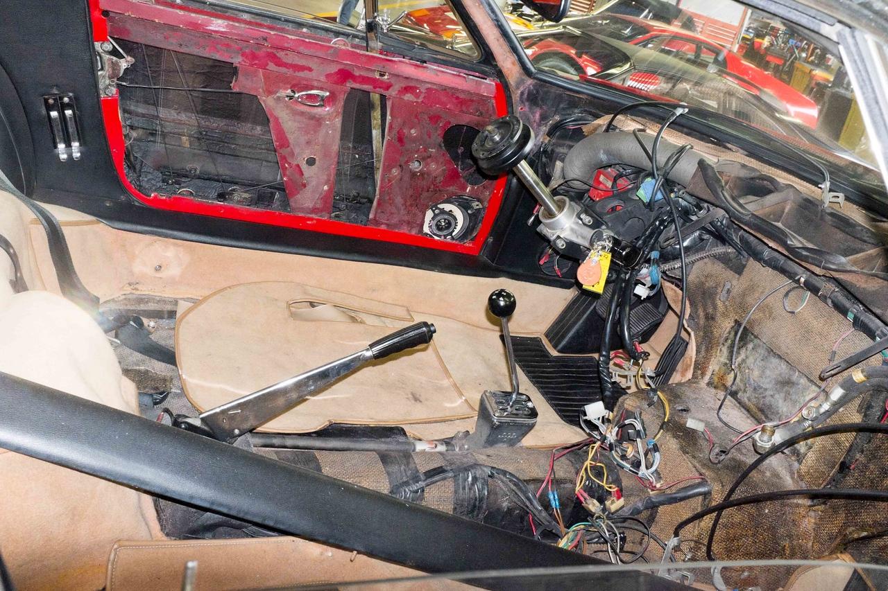 Daytona getting restored